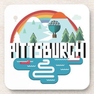 Pittsburgh, Pennsylvania | Cityscape Design Coaster