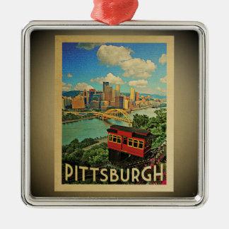 Pittsburgh Pennsylvania Ornament Vintage Travel