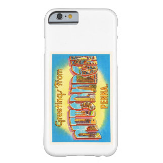 Pittsburgh Pennsylvania PA Vintage Travel Souvenir Barely There iPhone 6 Case