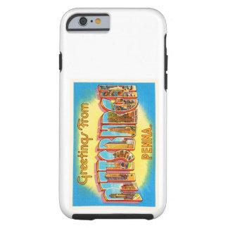 Pittsburgh Pennsylvania PA Vintage Travel Souvenir Tough iPhone 6 Case