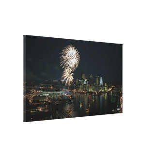 Pittsburgh Photo  Wall Canvas