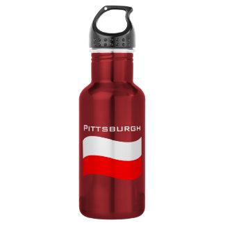Pittsburgh Polska Water Bottle
