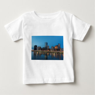 Pittsburgh Skyline at Dusk Baby T-Shirt