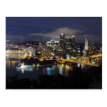 Pittsburgh Skyline at Dusk Postcards