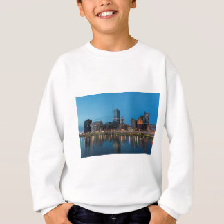 Pittsburgh Skyline at Dusk Sweatshirt