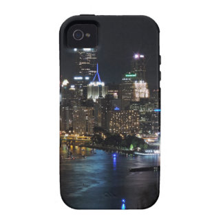 Pittsburgh Skyline at Night iPhone 4/4S Case