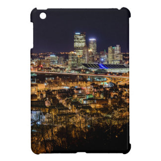 Pittsburgh Skyline at Night Case For The iPad Mini