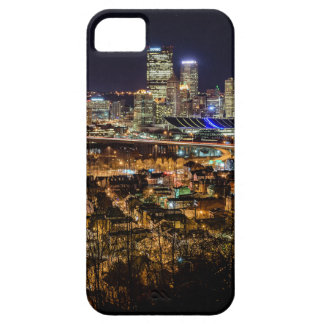 Pittsburgh Skyline at Night Case For The iPhone 5
