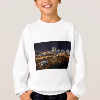 Pittsburgh Skyline at Night Sweatshirt