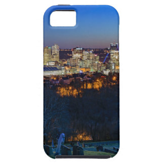 Pittsburgh Skyline at Sunset Case For The iPhone 5