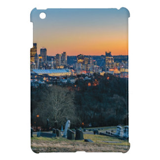 Pittsburgh Skyline at Sunset iPad Mini Cases
