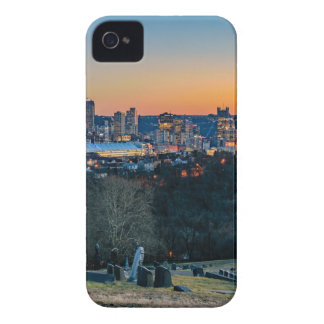 Pittsburgh Skyline at Sunset iPhone 4 Case