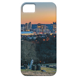 Pittsburgh Skyline at Sunset iPhone 5 Cases