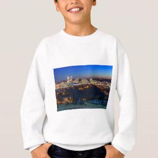 Pittsburgh Skyline at Sunset Sweatshirt