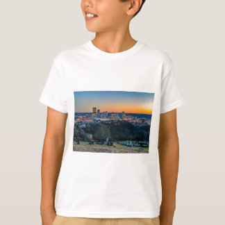 Pittsburgh Skyline at Sunset T-Shirt