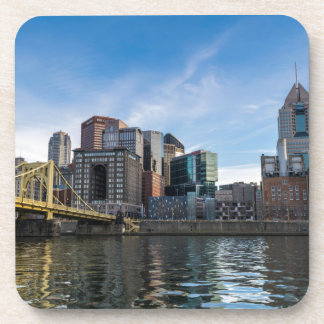 Pittsburgh Skyline Beverage Coasters