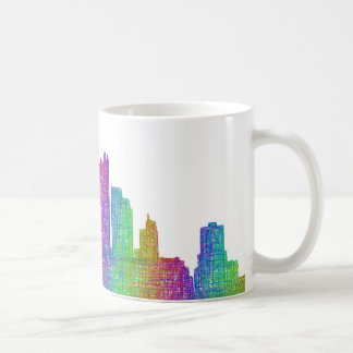 Pittsburgh skyline coffee mug