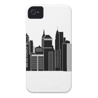 Pittsburgh Skyline iPhone 4 Case-Mate Case