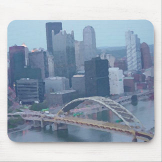 Pittsburgh Skyline Mouse Pad
