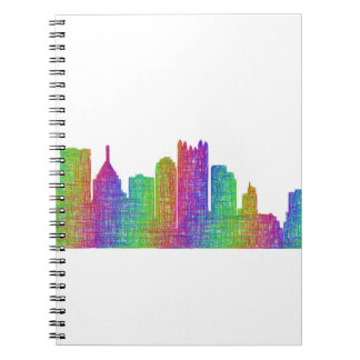 Pittsburgh skyline notebook