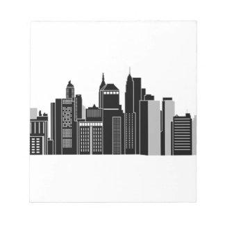 Pittsburgh Skyline Notepad