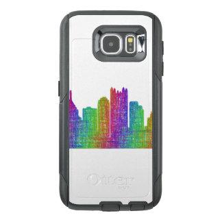 Pittsburgh skyline OtterBox samsung galaxy s6 case