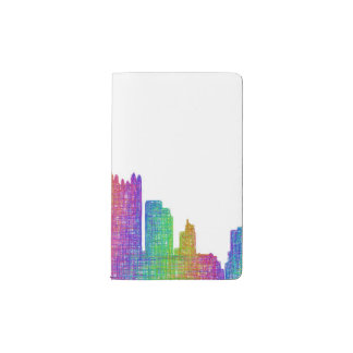 Pittsburgh skyline pocket moleskine notebook