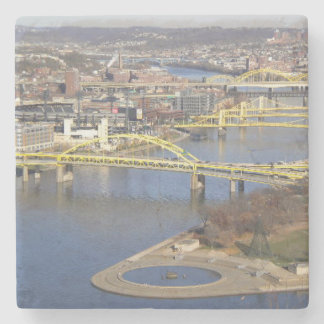 pittsburgh stone coaster
