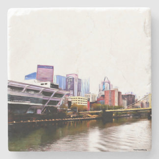 Pittsburgh Stone Coasters