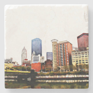Pittsburgh Tile Coasters
