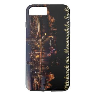 Pittsburgh via Monongahela Incline at Night iPhone 7 Plus Case