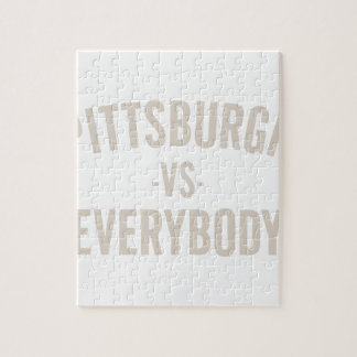 Pittsburgh Vs Everybody Jigsaw Puzzle