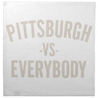 Pittsburgh Vs Everybody Napkin