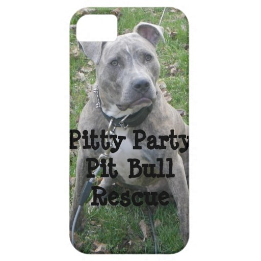 Pitty Party Pit Bull Rescue iPhone Case iPhone 5 Cover