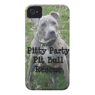 Pitty Party Pit Bull Rescue iPhone Case iPhone 4 Case