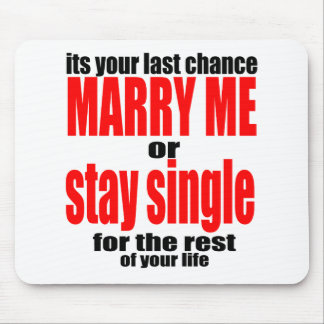 pity pickup proposal marry single couple joke quot mouse pad