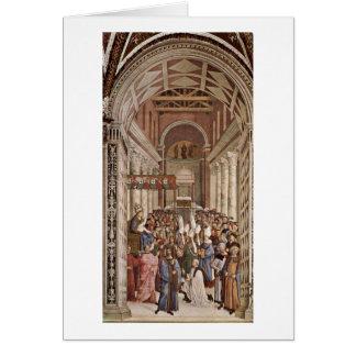 Pius Ii Appointed Pope By Bernardino Di Betto Cards