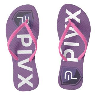 PIVX Color Adult Flip Flops Purple