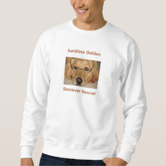 Pix of Lucky-  Men's Sweatshirt-Sunshine Goldenu Sweatshirt