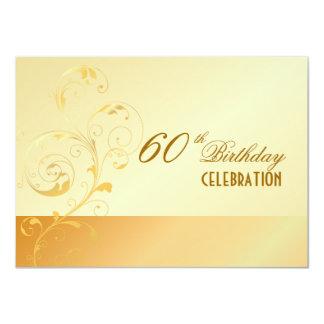 PixDezines 60 Birthday/filigree/DIY your event.. Card