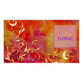 PixDezines abstract+filigree swirls Pack Of Standard Business Cards