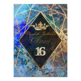 PixDezines Abstract Galaxy/Sweet+16 Card