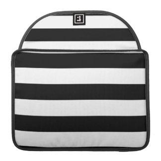 PixDezines adjustable stripes diy color black MacBook Pro Sleeves