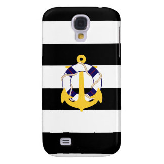 PixDezines adjustable stripes/diy color Galaxy S4 Case