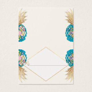 PixDezines Aloha Hawaiian Pineapple/Place Cards