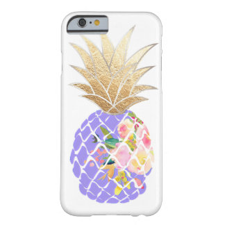 PixDezines Aloha Pineapples/DIY background Barely There iPhone 6 Case