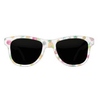 PixDezines Aloha Pineapples/DIY background Sunglasses