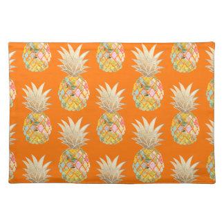 PixDezines Aloha Pineapples Pattern Placemat