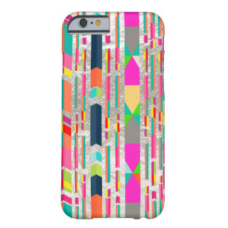 PixDezines arrows+faux silver Barely There iPhone 6 Case