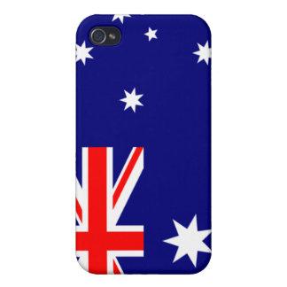 PixDezines Aussie Union Jack iPhone 4 Case